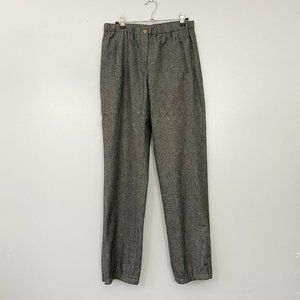 KORS Michael Kors Couture Gray Wool Italian Pants
